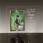 Personalized Horse Memorial Picture Frame