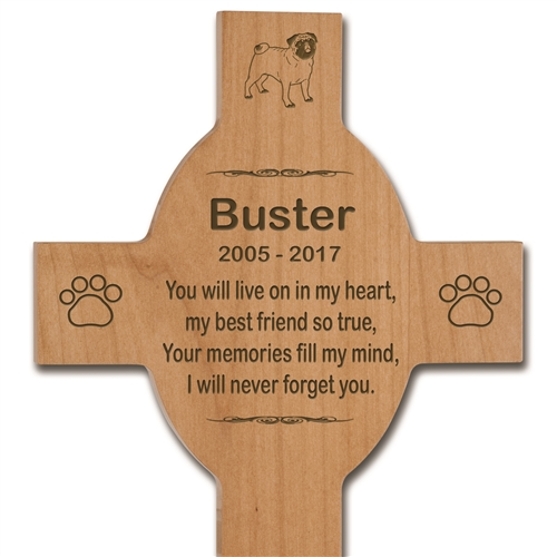 Personalized Wood Cross