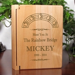 Rainbow Bridge Photo Album For Dogs