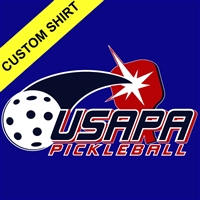 Men's USAPA Shirt, choose the style, fabric and color. Sizes S-3XL