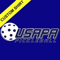 Men's USAPA Partners Shirt, choose the style, fabric and color. Sizes S-3XL