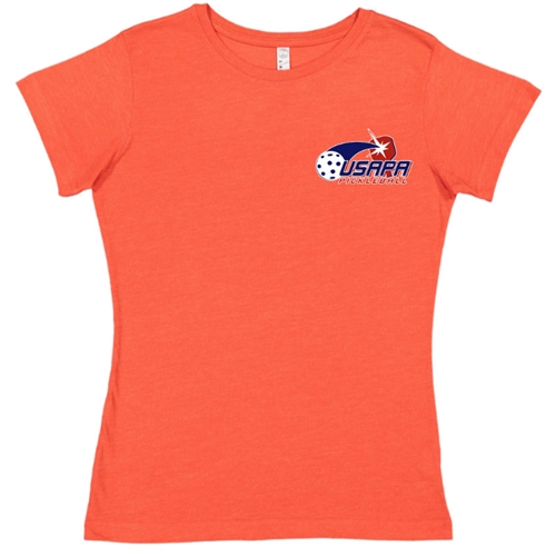 USAPA logo at left chest on cotton blend short sleeve shirt. Multiple colors. Sizes S-2XL