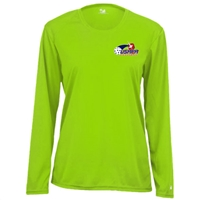 USAPA logo at left chest on performance fabric long sleeve shirt. Multiple colors. Sizes S-2XL