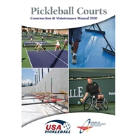 Pickleball Courts: A Construction & Maintenance Manual, 134 pages.