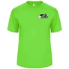 Players Tee with printed USAPA logo for Men. Sizes S-3XL. Navy, Red, Safety Yellow, Lime