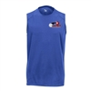 Challenger Sleeveless for Boys with USAPA printed logo. Sizes XS-XL. Royal