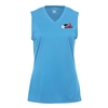 USAPA logo printed on the Court Sleeveless for Girls. Sizes XS-XL. Columbia Blue
