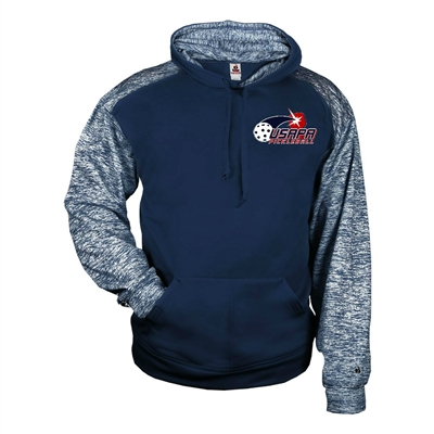 Sport Sweatshirt for Youth with USAPA printed logo. Sizes XS-XL. Navy