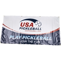 USA Pickleball Banner, display at your facility or tournament