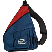 USAPA logo Sling bag in red