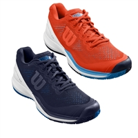 Men's Wilson Rush Pro 3.0, choose from 4 colors, sizes 7-14