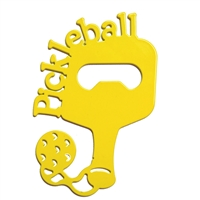 Pickleball Bottle Opener, choose from two colors