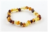 Baltic Amber Ankle Bracelet For Babies