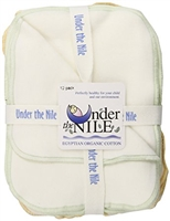 Under the Nile Organic Cotton Wipes (12 pk)