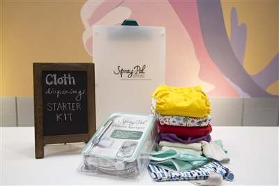 cloth diaper starter kit from spray pal