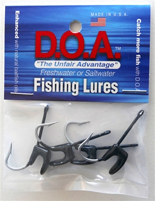 "2.75"" Shrimp Replacement Weighted Hooks"