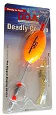 "Deadly Combo - Oval Clacker w/ 3"" Shrimp - 1 Pak"