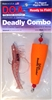 "Deadly Combo - Popper Clacker w/ 3"" Shrimp - 1 Pak"