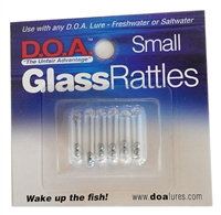 Glass Rattles - 6 Pak - Small