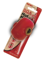 301 Red - D.O.A. Hot Head 5 Pak Rigged w/ Lure & Hook