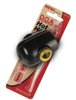 423 Black - D.O.A. Hot Head 5 Pak Rigged w/ Lure & Hook