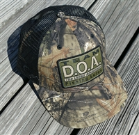 D.O.A. Mesh Patch Cap - MOSSY OAK Camo