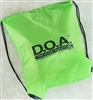 D.O.A. Carry Bag - Lime Green
