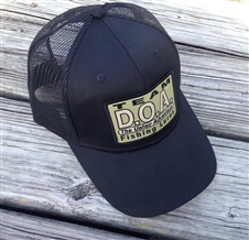 D.O.A. Mesh Patch Cap - Black & Tan Patch
