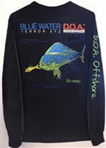 Blue Water Long Sleeve Shirt — now in Dry Fit!