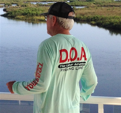 D.O.A. - DryFit Shirt - Sea Frost - Long Sleeve Only