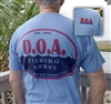 NEW - D.O.A. - LogoEst.1985 Shirt - Blue - Short Sleeve