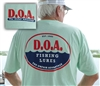 NEW - D.O.A. - LogoEst.1985 Shirt - Mint - Short Sleeve