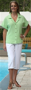 #536 Mirage Cotton Mary Shirt