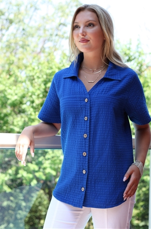 #537 Mirage Cotton Ivy Shirt