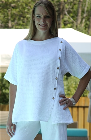 #542 Mirage Cotton Becca Shirt