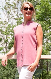 #612L Bubble Cotton Emma Shirt