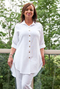 #PL590 Mirage Cotton Mieke Shirt (Plus Size)