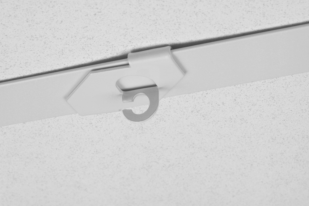 Stas Drop Ceiling Hook For Use With Loop Cords Or Cables