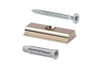 Rail Connector Kit includes rail connector, screw and wall anchor