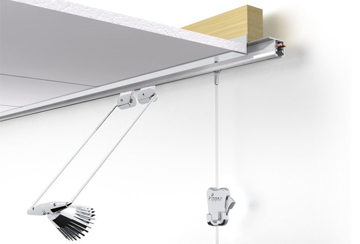Stas U Rail Multi Bright Picture Hanging Systems