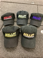 "Bullet  ""Blackout"" Series Logo Hats"