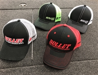 Bullet / Mercury Mesh Back Hat. Assorted colors