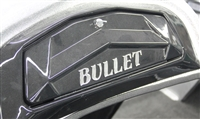"Chrome ""BULLET"" Dash Decal"