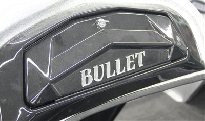 Total Performance Domed Decal With Flare Used On Step Up Area - Bullet bass boat decals