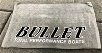 Bullet Logo Micro Fiber Tournament Hand Towel