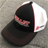 Limited Edition Bullet / Mercury 3-Tone Mesh Back Hat Red, White, Black
