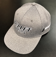 Bullet / Mercury Logo Heathered Fullback Winter Snapback Hat