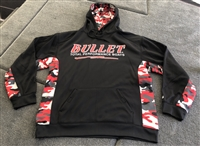 Bullet Logo Camo Performance Pullover Hoodie Hooded Jacket