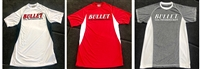 Bullet Logo Short Sleeve 2-Tone Fishing Jerseys Assorted Colors