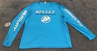 Bullet / Mercury Pro Style Performance Tournament Jersey Aqua Blue